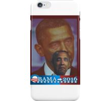 Obama 2016 presidential collection iPhone Case/Skin