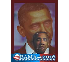 Obama 2016 presidential collection Photographic Print