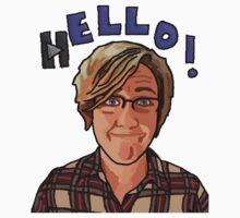 Hello! - Hannah Hart by Grainwavez