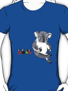 Claw Painting Koala T-Shirt