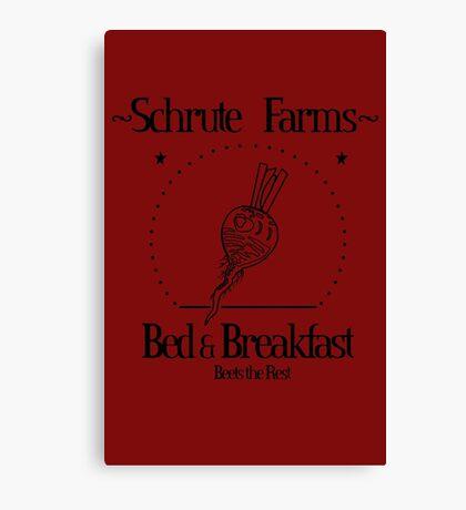 Schrute Farms B&B Canvas Print