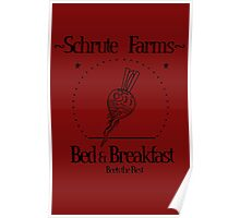 Schrute Farms B&B Poster