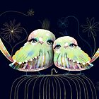 Little Love Birds by © Karin (Cassidy) Taylor