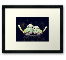 Little Love Birds Framed Print