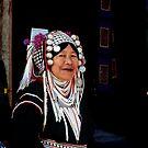 Akha Woman, Portrait by Duane Bigsby