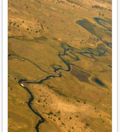 Okavango Delta Sticker
