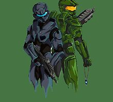 Halo Drawing by DIMIART