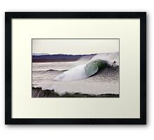Magic Barrel- Moody Afternoon Light Framed Print