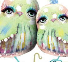 Little Love Birds Sticker