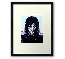Daryl Dixon Survivor Framed Print