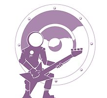 Bass Cadet with Speaker Amp Moon 2 by astralsid