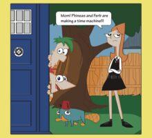 Phineas & Ferb Who Kids Tee
