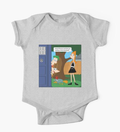 Phineas & Ferb Who One Piece - Short Sleeve