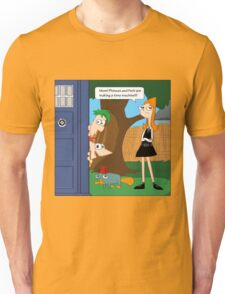 Phineas & Ferb Who T-Shirt