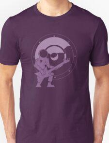 Bass Cadet with Speaker Amp Moon 2 Unisex T-Shirt