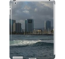 Sailing Into Honolulu, Hawaii iPad Case/Skin