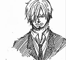 ONE PIECE: Sanji by Ruo7in