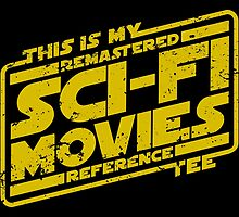 Sci-fi Movie Tee by D4N13L