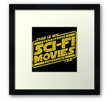 Sci-fi Movie Tee Framed Print