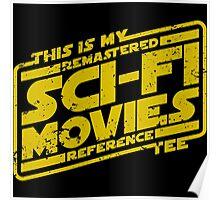 Sci-fi Movie Tee Poster
