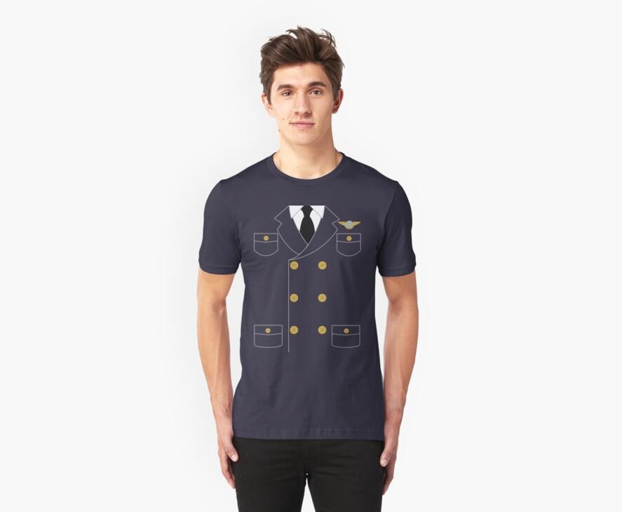 Catch Me If You Can Pilot Shirt by Johanna Martinez