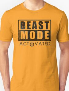 Beast Mode Bodybuilding Gym Sports Motivation Unisex T-Shirt