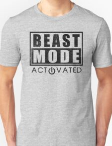 Beast Mode Bodybuilding Gym Sports Motivation Unisex T-Shirt