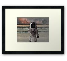 Astronaut Space Mission Framed Print