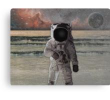 Astronaut Space Mission Canvas Print