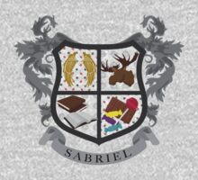 Sabriel coat of arms by JudithzzYuko