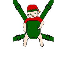 Elf Baby Carrier Photographic Print