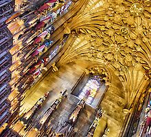 Thistle chapel, St Giles Cathedral, Edinburgh, UK by Wendy  Rauw