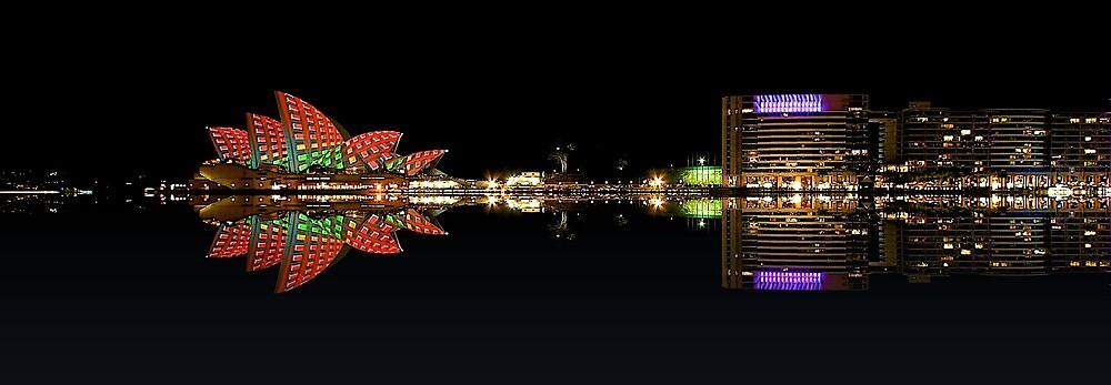 Sydney Circular Quay by fernblacker