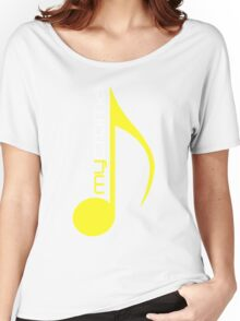 yellow Women's Relaxed Fit T-Shirt