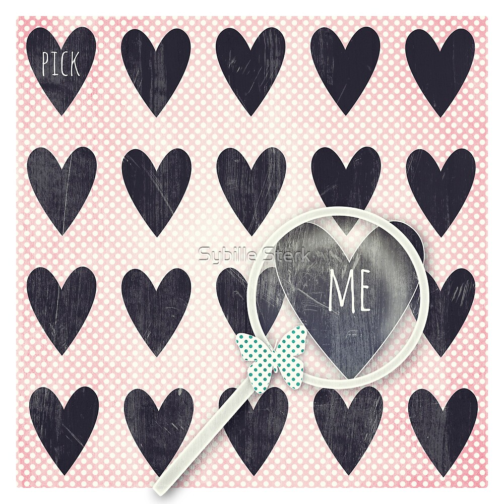 Pick Me by Sybille Sterk