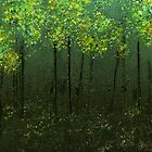 Birch Forest by Marlies Odehnal