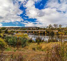 Derwent River, Tasmania #4 by Elaine Teague