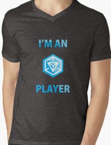 ingress player Mens V-Neck T-Shirt