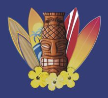 Surfboards And Tikis by BailoutIsland