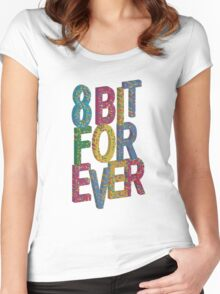8 bit for ever Women's Fitted Scoop T-Shirt