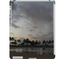 Tropical Sky and Palm Trees - Hawaiian Sunset iPad Case/Skin