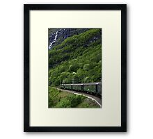 The Flam railway Framed Print