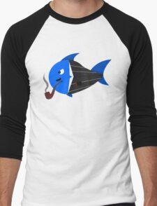 Mafia boss fish Men's Baseball ¾ T-Shirt