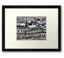 Dresdener Zwinger Framed Print
