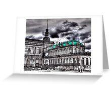Dresdener Zwinger Greeting Card