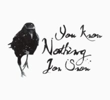 You know nothing Jon Snow by UchimataMan