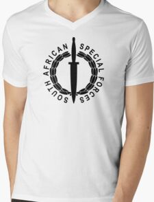 South African Special Forces Mens V-Neck T-Shirt