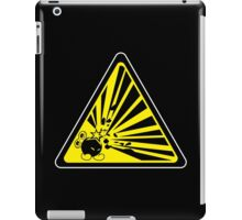 CAUTION: Risk of Explosion iPad Case/Skin