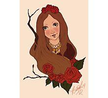Golden Rose Photographic Print