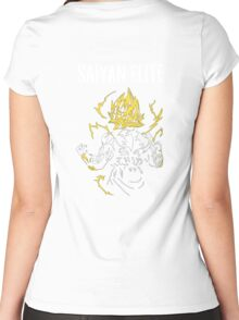 Saiyan Elite Women's Fitted Scoop T-Shirt